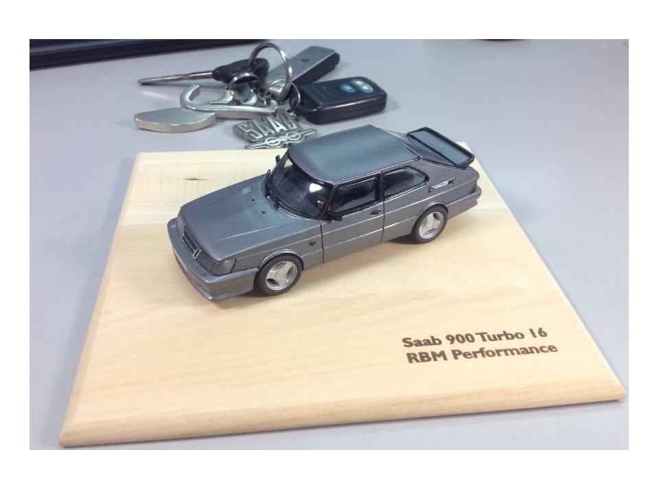 SAAB 900 Turbo 16 RBM performance model 1/43