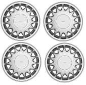 SAAB alloy wheels - SAAB spare parts specialist