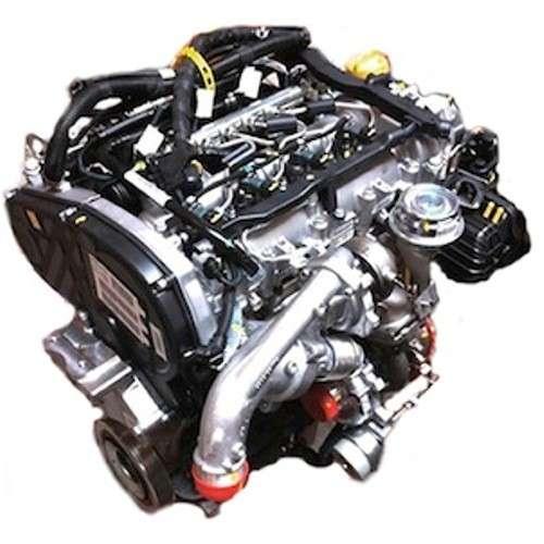 2002 Saab 43594 Transmission: Complete Engine For Saab 9.3 II 1.9 TTID (Manual
