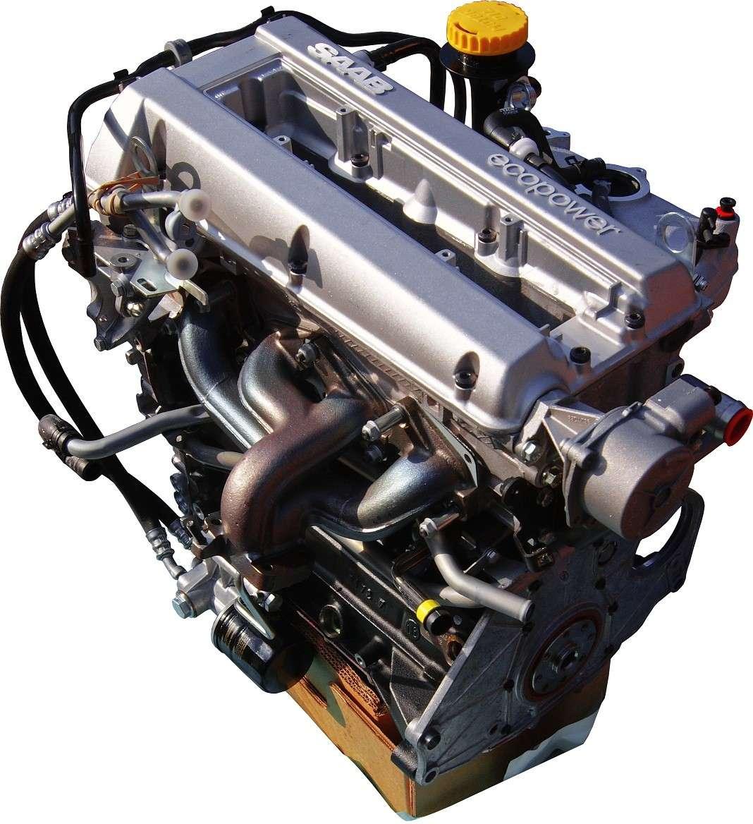 2002 Saab 43594 Transmission: Complete 2.3 Turbo Engine For Saab 9.5