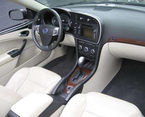 Interieur cuir Parchemin Saab 9.3 cabriolet 2003-2012 - pièces ...