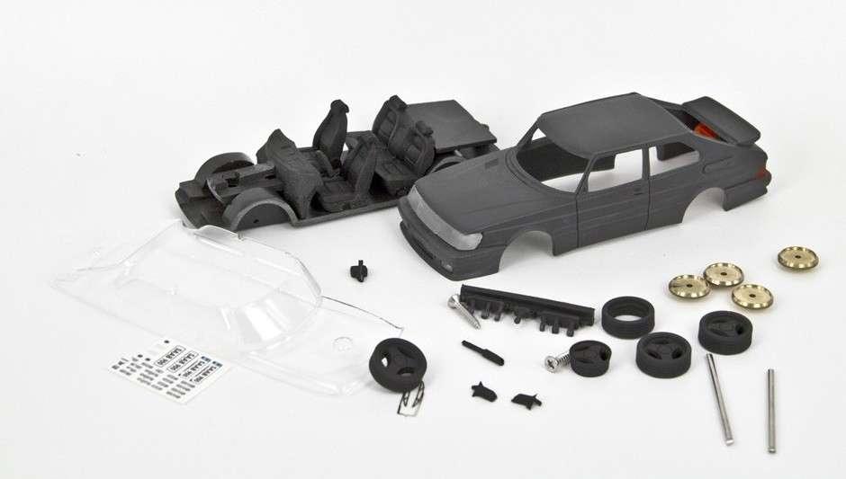 SAAB 900 Turbo 16 RBM performance model 1/43 (resin kit)